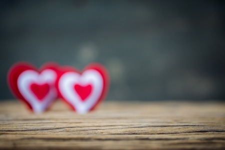 soul mate: Valentines Day background with hearts nad soul mate Stock Photo