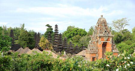 taman: Royal Temple, Taman Ayun - Bali Stock Photo