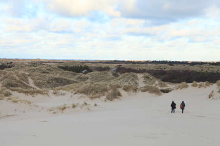 sand dunes: Rbjerg Mile, Denmark- The site of moving sand dunes
