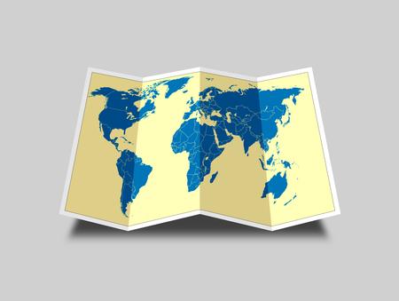 world map ,illustration illustration