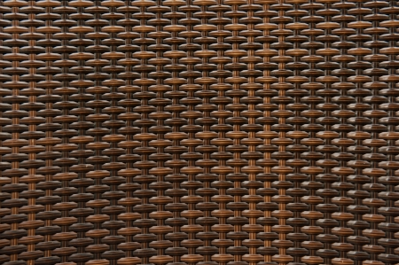 straw twig: woven rattan with natural patterns Stock Photo