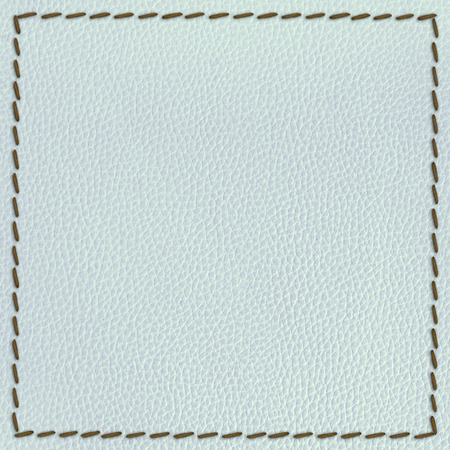 leather texture background with seam
