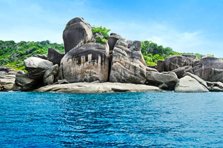 similan: Similan National Park Stock Photo