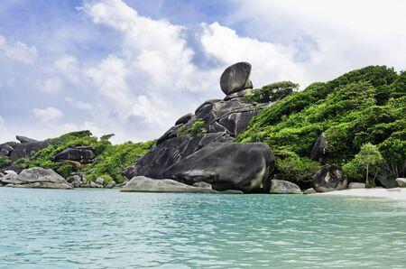 île Similan, mer d'Andaman, Thaïlande