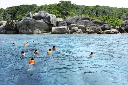 snorkelling: Snorkelling at Similan National Park