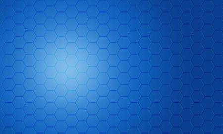 fond abstrait pentagone bleu Banque d'images