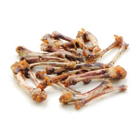 Chicken Bones isolate is on white background