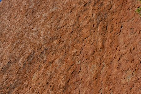 ayers: Uluru  Ayers Rock  Close Up Stock Photo