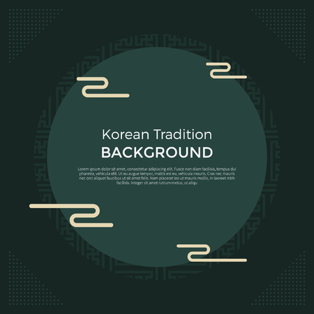 Korean traditional New Year background