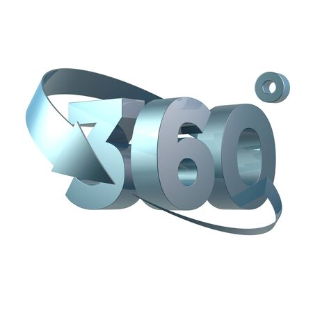 Simple and various 3d arrows Reklamní fotografie