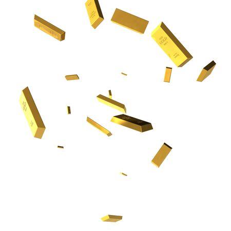 Semplici icone relative alla finanza, monete oggetto 3d, oggetto d'oro gold