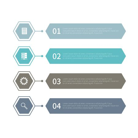Various business infographic, infographic chart, vector infographic elements