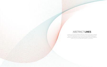 Abstrakcyjne tło linii Ilustracje wektorowe