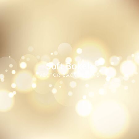 Simple and beautiful soft bokeh background