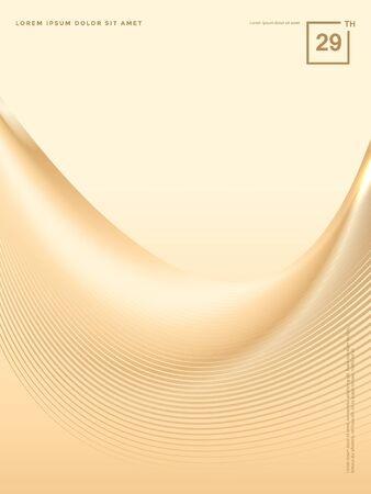 Abstract background of luxury gold lines Stok Fotoğraf - 126717221