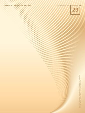 Abstract background of luxury gold lines Stok Fotoğraf - 126717223