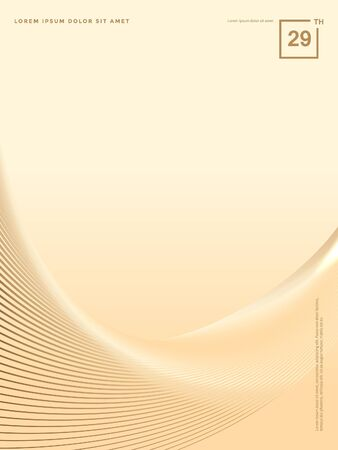 Abstract background of luxury gold lines Stok Fotoğraf - 126717228