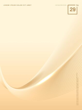 Abstract background of luxury gold lines Stok Fotoğraf - 126717230