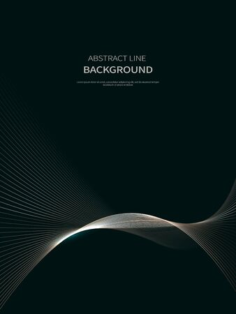 line background, abstract line, brochure background