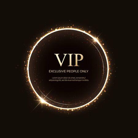 Luxus-VIP-Etiketten und -Objekte
