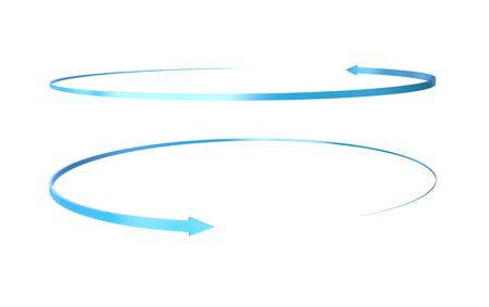 3d arrows, Path separated arrow object Stok Fotoğraf
