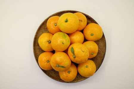 Fresh fruit oranges object