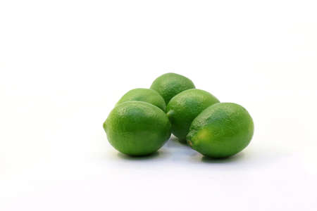 Tropical fresh and delicious lime objects