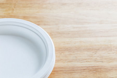 biodegradable: Biodegradable food containers Stock Photo