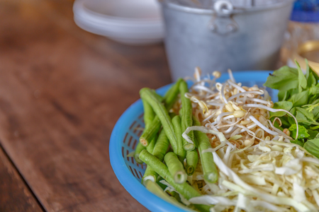 bean sprouts: fresh vegetables - bean sprouts, bean, cabbage