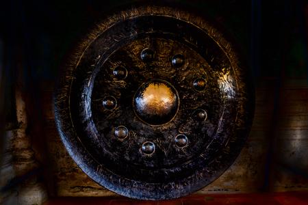 gong: big gong Stock Photo