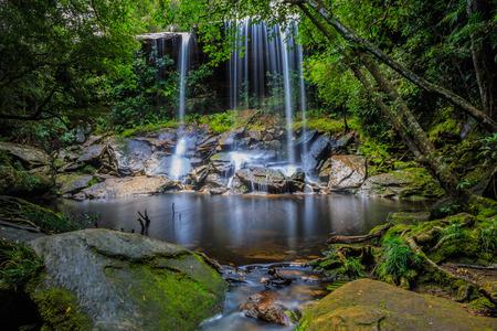 phukradueng: Thamsor nuo Waterfall Phukradueng National Park Loei Thailand