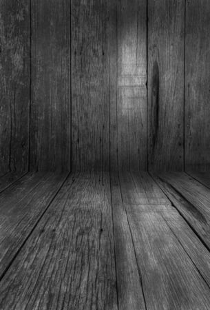 on wood floor: wall and floor wood background