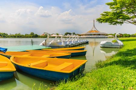ix: Suan luang rama ix park, bangkok thailand Stock Photo