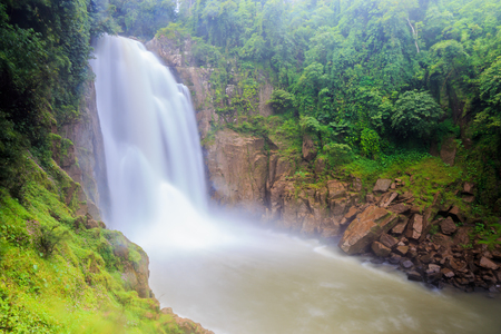 Heaw Narok Water in National wild Thailand Stock Photo