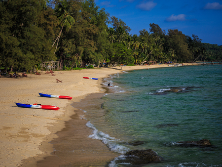 Beach of Ko Kut ,district of Trat Province, Thailand Stock Photo