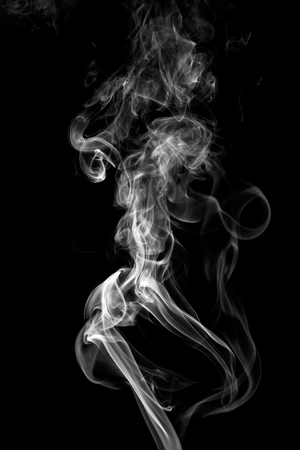 colorful smoke on dark background Фото со стока