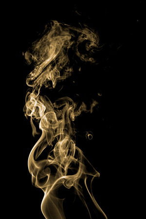 colorful smoke on dark background Foto de archivo