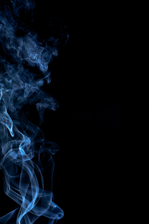 colorful smoke on dark background 版權商用圖片