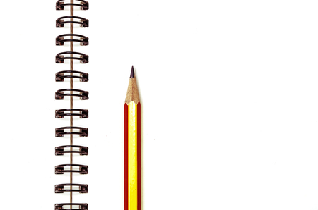 Use pencil and notebook record activities, reminder, into notebook Imagens