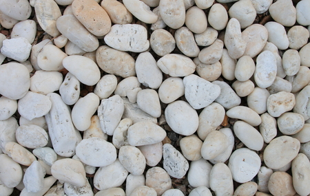 The many stone on the ground,pebbles Imagens