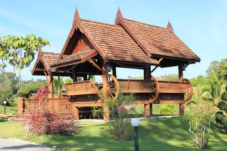 identidad cultural: Pabellón en Tailandia