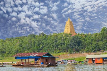 riverside: Pagoda as seen from riverside Stock Photo