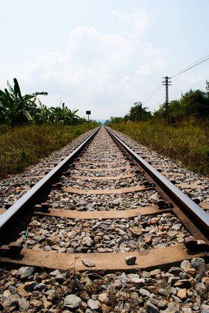 Railway to success. photo