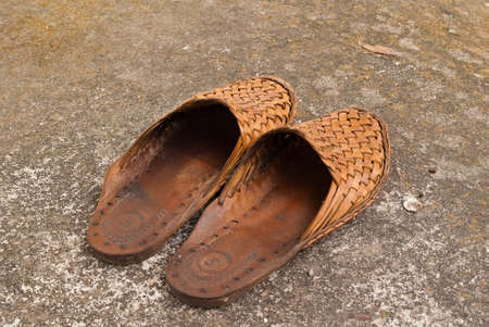 Cow skin shoes  photo