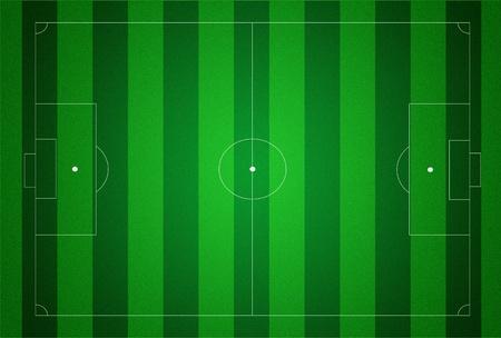 Soccer field texture illustraton. photo