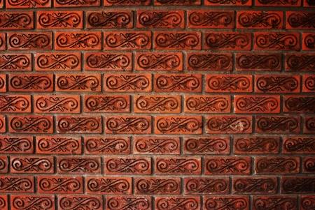 Orange cement wall texture. Stock Photo - 9330651
