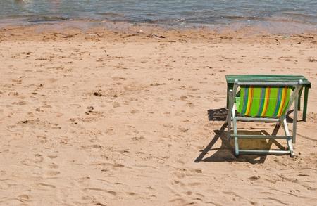 Hammock with the beach. photo