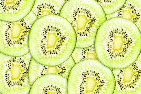 Close up Kiwi healthy fruit texture background. photo