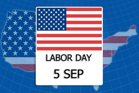 5 September Labor day. photo
