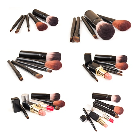 Cosmetic isolated on the white background. photo